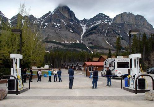 RV Services at The Crossing Resort Icefields Parkway
