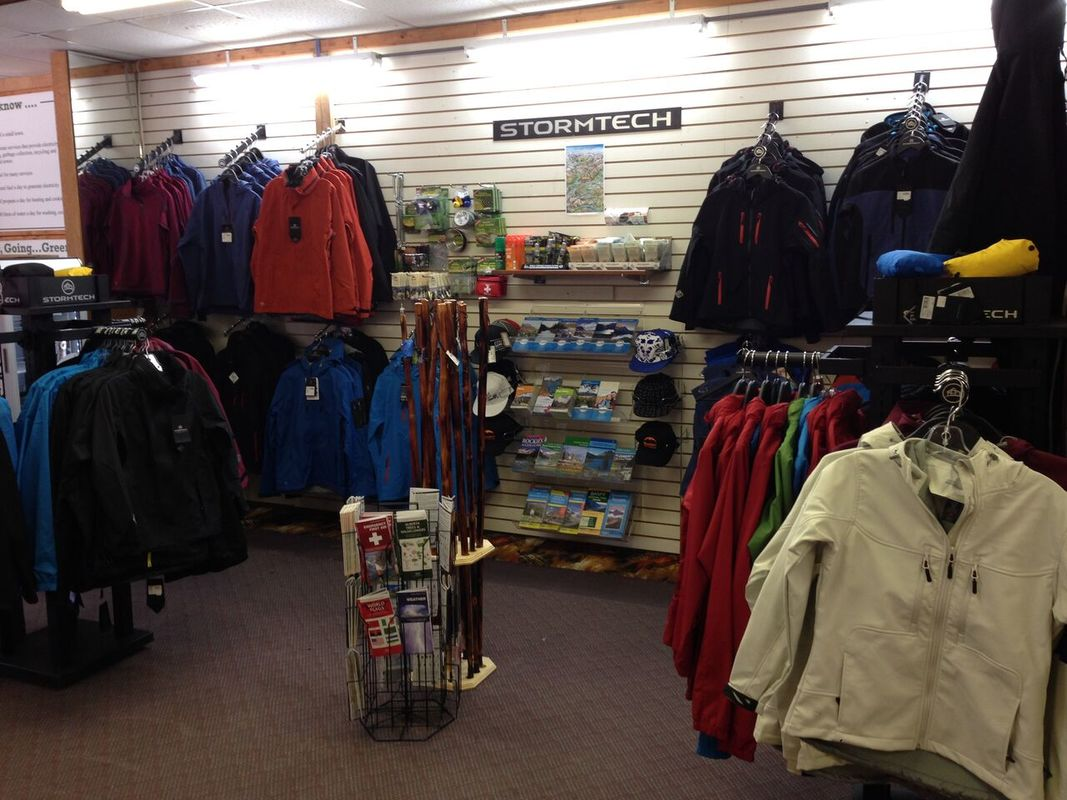 Hiking Gear at The General Store at The Crossing Resort
