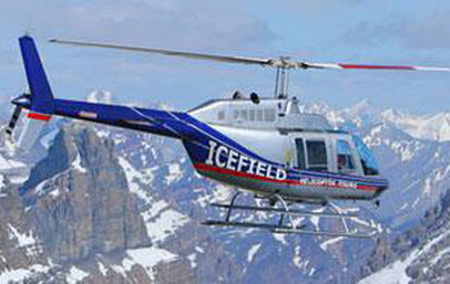 Icefield & Kananaskis Helicopter Tours