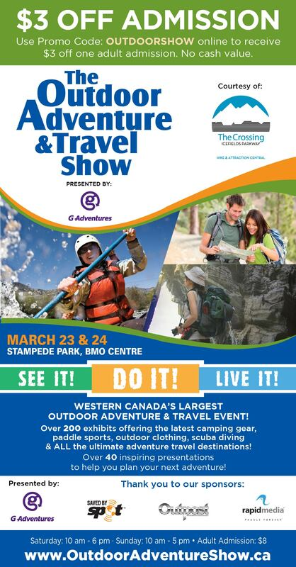 Outdoor Adventure Show Coupon