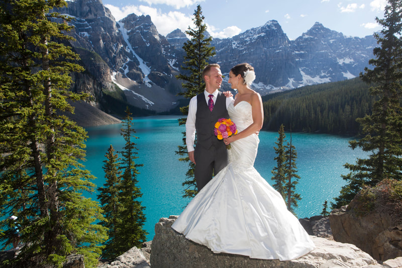 Wedding packages in the Canadian Rockies